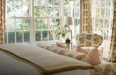 In 1939, Mrs. Florida Lasier of Chicago snagged her silk stockings on a wild blackberry bramble while exploring the idyllic Smoky Mountain foothills, and the name Blackberry Farm was born. Forty years later, the Beall family invested their hearts and souls in the same romantic site that has become their family home and lifelong passion. #landmark #hotel #design #cosy #traditional #contemporary @designandtravelguide Hotels And Resorts, Future House, Home And Family, Contemporary, Blackberry Bramble, Interior Design, Luxury, Bedrooms, Silk Stockings