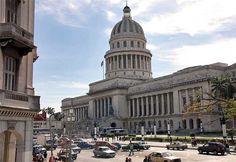 Construido a imagen y semejanza del Capitolio de Washington en 1929, por encargo del presidente Gerardo Machado, el edificio albergó el cuerpo legislativo de la República de Cuba (la Cámara de Representantes y el Senado) hasta su disolución en 1959.