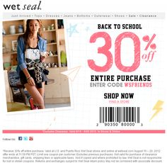 Wet seal coupon codes