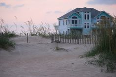 beach homes are the best