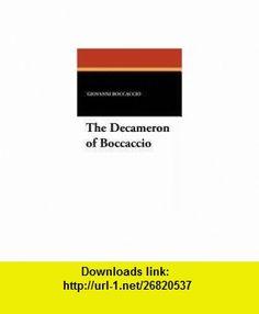 The Decameron of Boccaccio (9781434429483) Giovanni Boccaccio, Steele Savage, John Payne , ISBN-10: 1434429482  , ISBN-13: 978-1434429483 ,  , tutorials , pdf , ebook , torrent , downloads , rapidshare , filesonic , hotfile , megaupload , fileserve