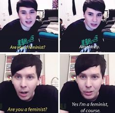 Reason number I lost count of why I love Dan and Phil! ❤️❤️