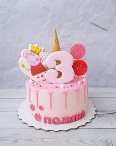 Cupcakes birthday cake girl peppa pig 47 ideas for 2020 Tortas Peppa Pig, Bolo Da Peppa Pig, Peppa Pig Cookie, Cumple Peppa Pig, Peppa Pig Cakes, Peppa Pig Birthday Decorations, Peppa Pig Birthday Cake, Birthday Cake Girls, Birthday Cupcakes