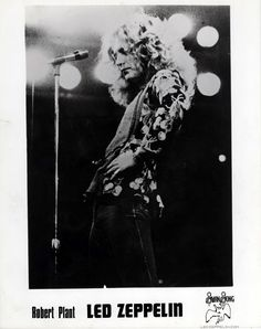 1975 Robert Plant promo