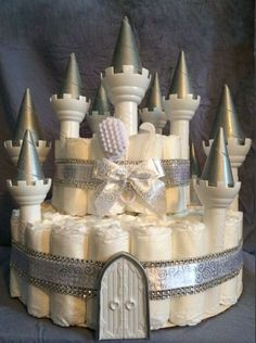 Diaper Cake Castle   eBay