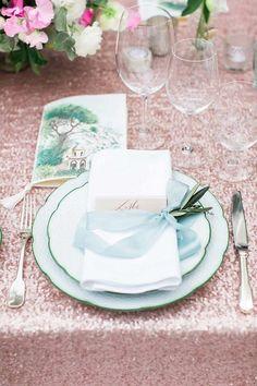 Romantic garden wedding off the Amalfi coast - 100 Layer Cake Amalfi Coast Wedding, Wedding Place Settings, 100 Layer Cake, Romantic Places, Italy Wedding, Garden Wedding, Destination Wedding, Wedding Decorations, Wedding Tables