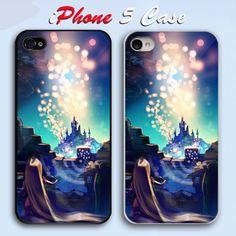 New Disney Tangled  Custom iPhone 5 Case Cover