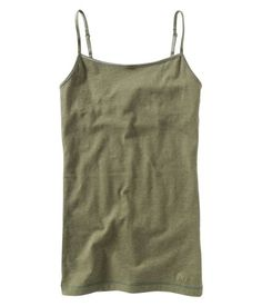 Camis aren't exactly a trend, but it is always a wardrobe essential! These ones from Aeropostale are super comfortable, the perfect length, and come in an infinite selection of colors! They hold up for years when you don't dry the in the dryer, too! Try layering them, or place them underneath your favorite tee!