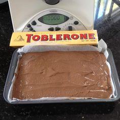 Tarta de Toblerone (Thermomix)
