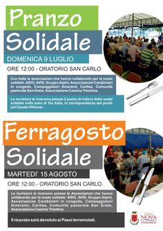 Pranzo Solidale + Ferragosto Solidale
