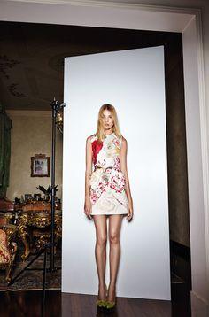 Macro Bouquets - Blumarine Fall Winter 2014/2015 Main Collection