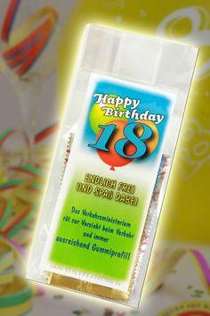 Endlich frei Kondome zum 18 Geburtstag
