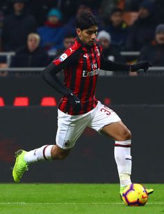 Lucas Paqueta of AC Milan in action during the Serie A match between. Ac Milan, Neymar Jr, Chelsea, Football Players, Soccer, Action, January 26, Milan Italy, Athletes