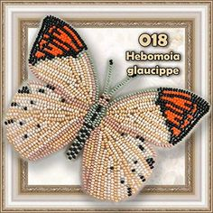 Butterfly Bead Embroidery kit Counted Beaded Cross Stich Beading on Plastic Canvas Bead Pattern Needlework Counted Glass Beads Kits Perle Tambour Embroidery, Embroidery Jewelry, Embroidery Kits, Beading Jewelry, Butterfly Kit, Bead Storage, Popular Crafts, Beaded Cross, Bead Kits