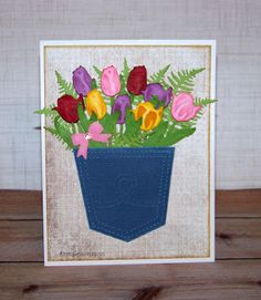 Ann Greenspan's Crafts: A Pocket Full of Tulips