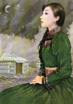 EWENKI TRIBE WOMAN, Chen Shu-Fen (陳淑芬; Taiwan)