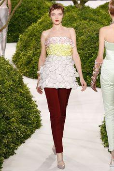 Christian Dior Spring 2013 Couture Fashion Show - Vlada Roslyakova