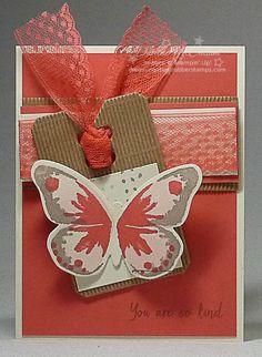 Watercolor Wings Watermelon Wonder Card