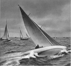 Dr. Paul Wolff, Eight Metre Class Yacht, 1938