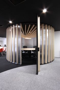 Circular Meeting Spaces or Quiet Spaces