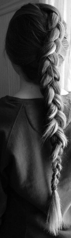 long dutch braids >