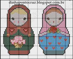 Matryoshka patterns by Dinha Ponto Cruz                                                                                                                                                                                 Mais