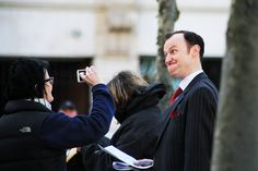 Mycroft: April 14th, 2013, the last day of filming episode 3x1. Okay I've been avoiding set photos like the plague but this is hilarious