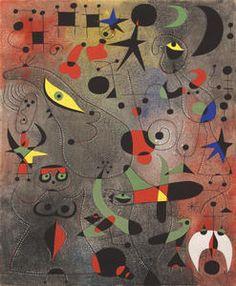 Constellation: Awakening in the Early Morning - Joan Miró
