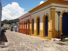 Rua do Mercado Municipal - Cidade de Goiás - GO - Brasil