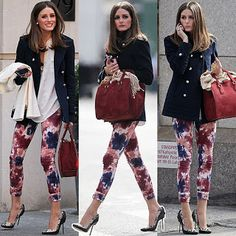 UPSCALE KITTEN: OLIVIA PALERMO ROCKING THE L.A.M.B AVERY SNAKESKIN PUMPS