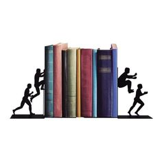 Aparador de Livros Homens em Ação - 10,6 x 22,8 x 17 cm