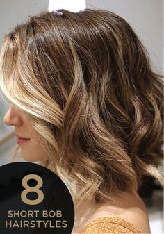 Looking to try something new with your hair? Go short and try one of these great bob hairstyles!