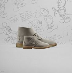 outlet store 7d0f7 4850f Zapatos Clarks Disney  Las Desert Boot de Mickey Mouse  clarks  boots