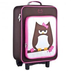 Beatrix NY Wheelie Bag Papar the Owl