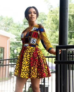 african fashion trends that looks stunning . African Print Dresses, African Fashion Dresses, African Dress, Fashion Outfits, African Outfits, Style Fashion, Woman Fashion, Fashion Styles, Fashion Ideas