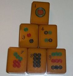 Bakelite Mahjong 1924 Antique
