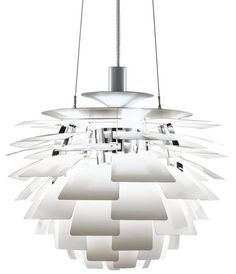 'PH Artichoke Pendant Lamp by Louis Poulsen. @2Modern'