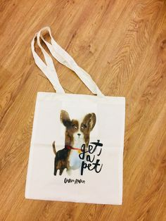 EAI插畫狗購物袋(Get a pet-柯基) – Everyday Art Reusable Tote Bags, Pets