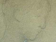 Details of drawing Paris France, Louvre, Portraits, Drawings, Artwork, Sketch, Face, Sketches, Art Work