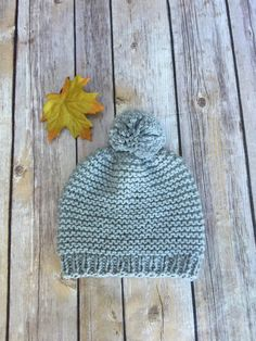 Sweet Grey Hat -Baby- Size Newborn Hand knit with love and care. Handmade from Soft and cozy Cotton. Perfect for baby boy. Baby Size, Hat Sizes, Baby Hats, Hand Knitting, Knitted Hats, Baby Boy, Grey, Sweet, Cotton