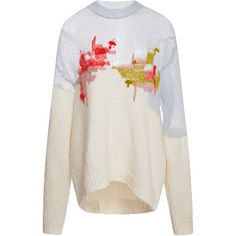 DELPOZO Knit Pullover With Embroidery