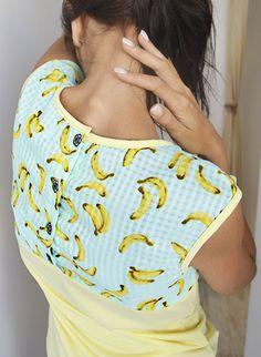 Cuntis #moda: #prints de #frutas #bananas cmcuntismoda.blogspot.com