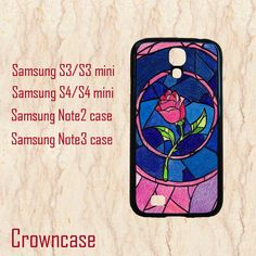 S4 Mini case,Samsung galaxy s4 active,Samsung galaxy s4 active case,Samsung S4 case,Samsung Galaxy S3 case--beauty and the beast,in plastic. by CrownCase88, $14.99