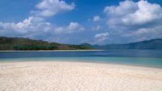 At the beach of Gili Nanggu in Sekotong, Lombok