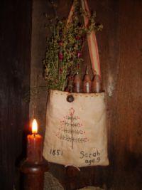 Candle sack...