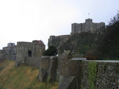 Dover Castle  (Photo Credit to Jenelle Schmidt 2004)