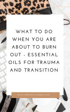 What to do when you know you are about to burn out - aromatherapy and essential oils for exhaustion, burnout, trauma and transition. Essential Oils For Headaches, Essential Oils For Sleep, Work Stress, Stress And Anxiety, Burnout Recovery, Oils For Energy, Holistic Medicine, How To Increase Energy, Stress Management