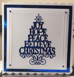 Sue Wilson Christmas dies Die Cut Christmas Cards, Homemade Christmas Cards, Xmas Cards, Handmade Christmas, Christmas Crafts, The Best Of Christmas, Christmas 2019, Simple Christmas, Christmas Trees