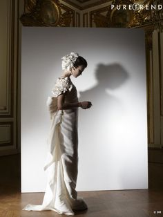 Les plus belles robes de mariée 2013 :   Collection Lanvin Blanche 2013