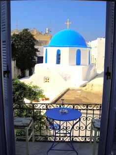 Paros Island, Greece - many youth memories there, maybe best not to revisit.......